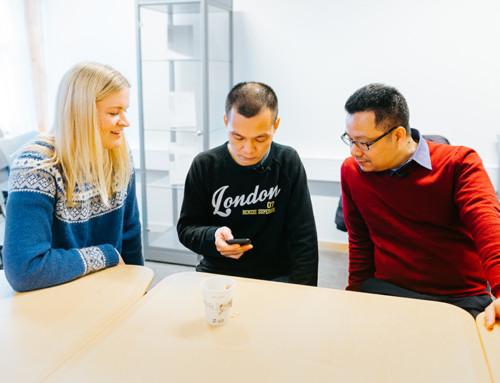 Bedre norsk med skreddersydd språk-app